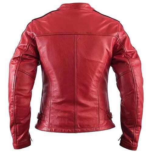 blouson-moto-femme-cuir-rouge