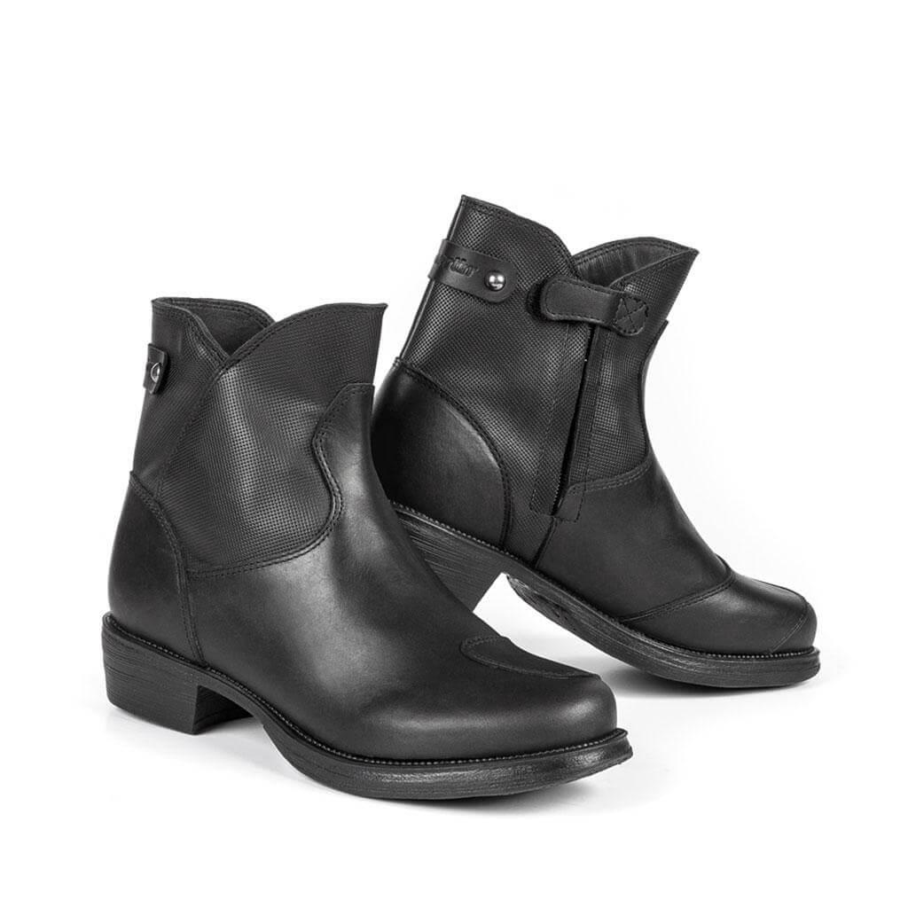 bottes-femme-moto-talons-Peearl -J-WP-black