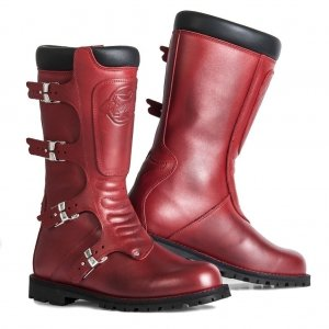 bottes-femme-continental-rouge