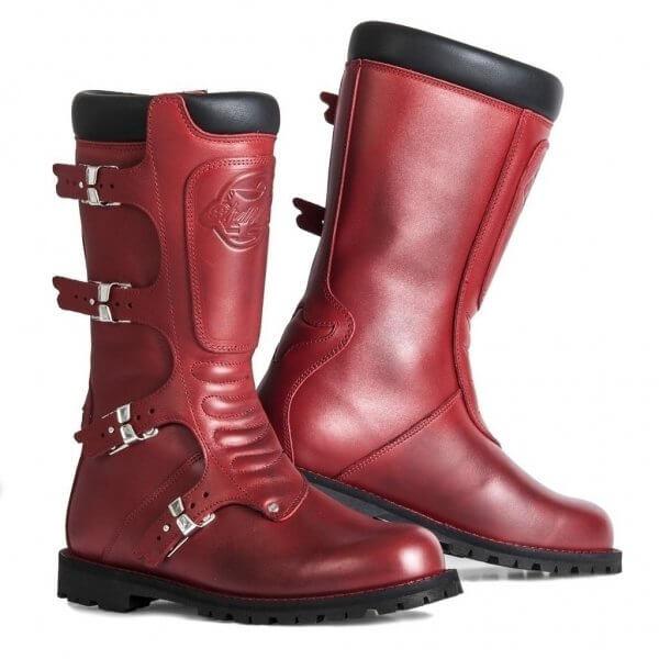 bottes-femme-continental-rouge