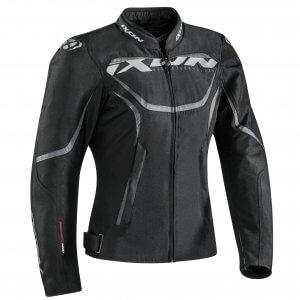 Blouson moto-femme-Sprinter-noir