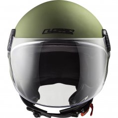 casque-moto-femme-ls2-of558-sphere-lux-solid-vert-mat-1