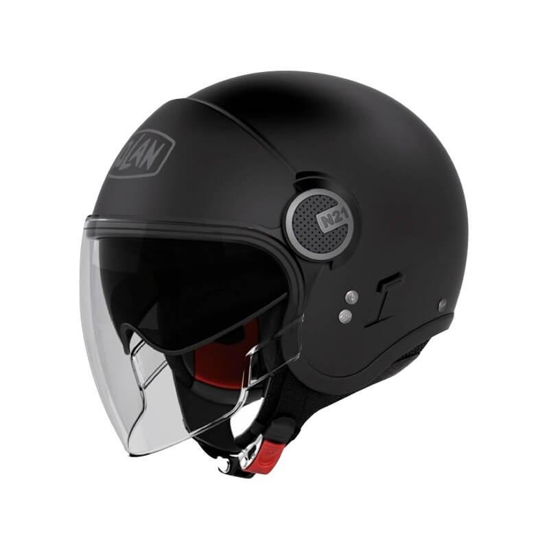 casque-femme-moto-nolan-n21-visor-classic-mat-noir