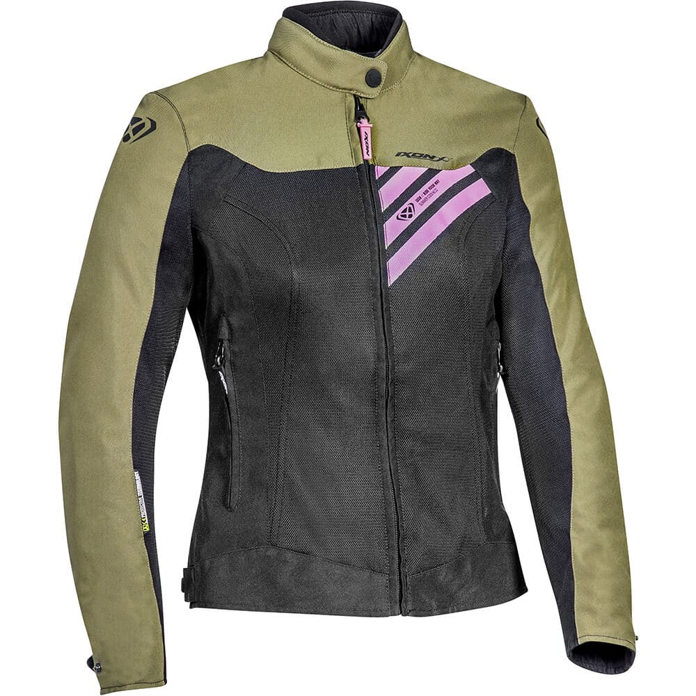 blouson-moto-femme-ixon-orion-lady-noir-kaki-rose-2