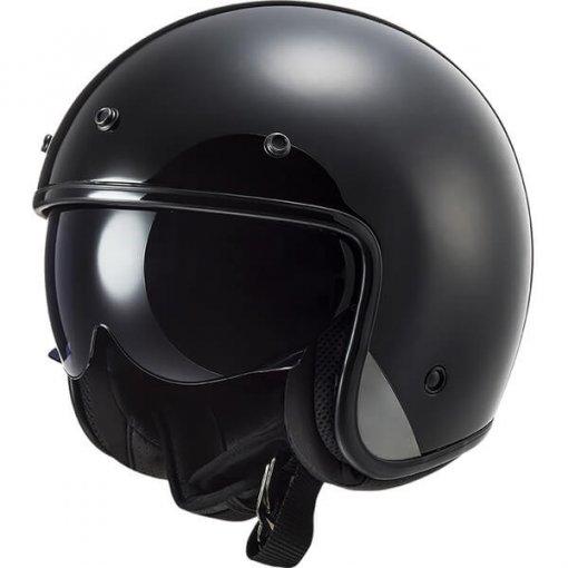 casque-moto-femme-leger-ls2-bob-noir