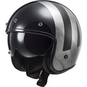 casque-moto-jet-ls2-of601-bob-lines-noir-gris-1