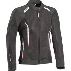 blouson-moto-femme-pas-cher-cool-air-lady-noir-blanc-rose-face