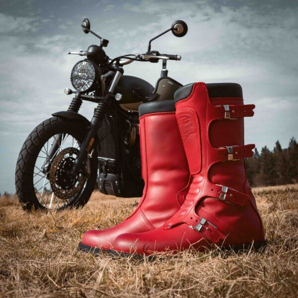 bottes-continental-red-Stylmartin