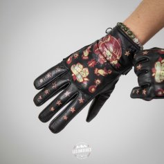 Gant-moto-femme-PANTHER-cuir-noir