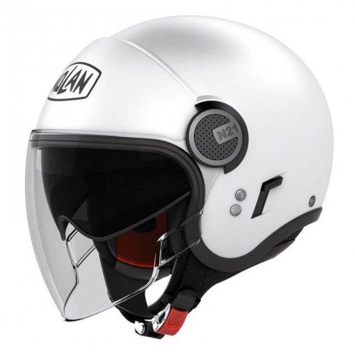 casque-jet-nolan-n21-visior-classic-blanc-face