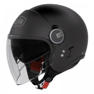 casque-jet-nolan-n21-visior-classic-noir-face