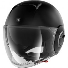 casque-jet-shark-nano-noir-mat-face