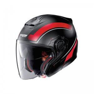 casque-modulable-nolan-n40-resolute-noir-rouge-face