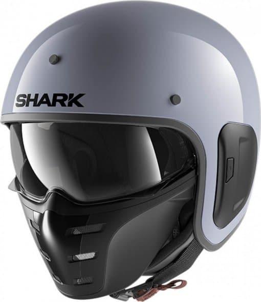 casque-moto-jet-shark-s-drak-gris-mat-face