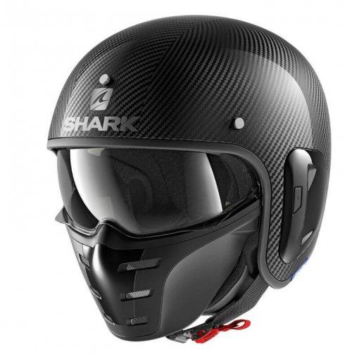 casque-moto-jet-shark-s-drak-noir-carbon-face