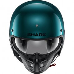 casque-moto-jet-shark-s-drak-vert-metallique-face2