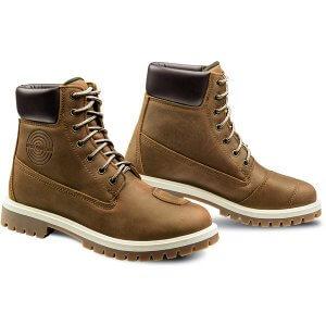 chaussure-moto-femme-mud-waterproof-ixon-moka