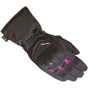 gants-ixon-pro-arrow-lady-noir-rose-DOS