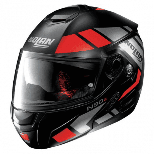 casque-modulable-nolan-n90-euclid-rouge-noir-gris-face-new