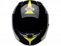 bell-casque-integral-qualifier-flare-noir-jaune-face