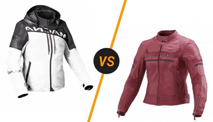 Blouson-textile-VS-blouson-cuir